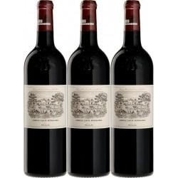 Château Lafite Rothschild 2016 1. Grand Cru klassifiziert 1855 PAUILLAC AOC Red 75 cl - die Holzkiste mit 3 Flaschen