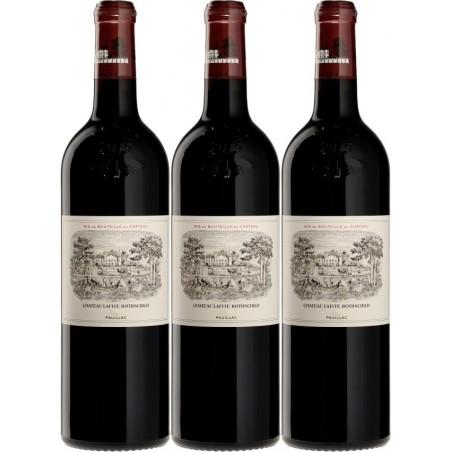 Château Lafite Rothschild 2016 1er Grand Cru classé 1855 PAUILLAC AOC Rouge 75 cl - la caisse bois de 3 bouteilles