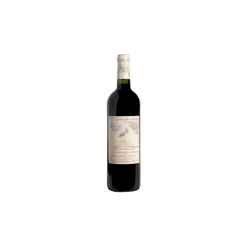 Le Bec en Sabot PESSAC LEOGNAN Vin Rouge AOP 75 cl