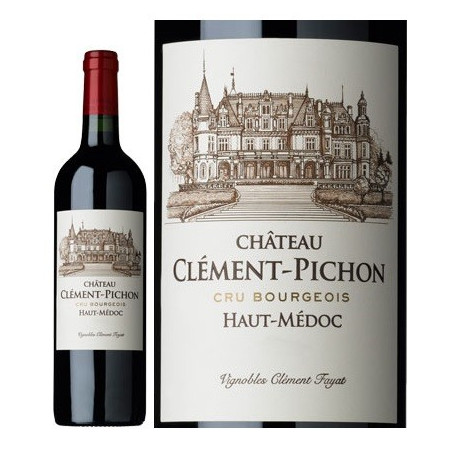 Château Clément Pichon HAUT MEDOC Red Wine Cru Bourgeois AOP 75 cl