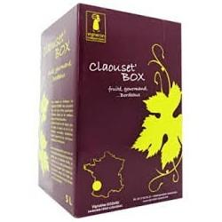 La Claouset 'Box Vineyard Siozard BORDEAUX Vino rosso DOP BIB fontana del vino 10 L