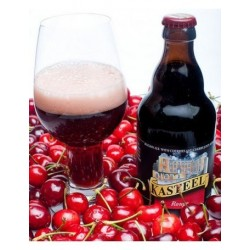 Beer KASTEEL Ruby RED with Belgian cherry 8 ° 33 cl