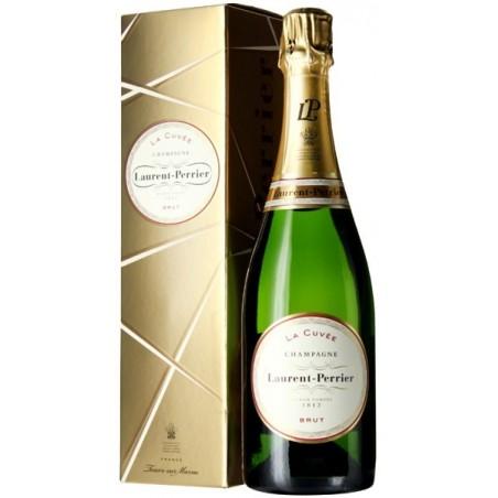 Laurent-Perrier La Cuvée CHAMPAGNE BRUT Vin Blanc AOP 75 cl dans son étui doré