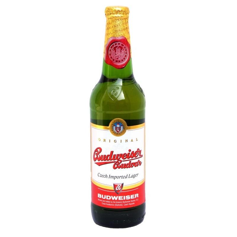 Bière BUDWEISER Original Blonde République Tchèque 5° 33 cl