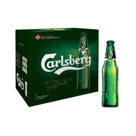 CARLSBERG Cerveza rubia Dinamarca 5 ° 25 cl