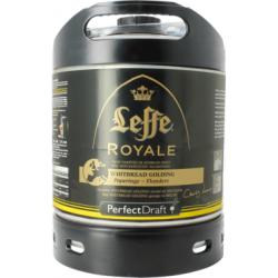 Cerveza LEFFE ROYALE Ambrée Belge 7.5 ° barril 6 L para la máquina...