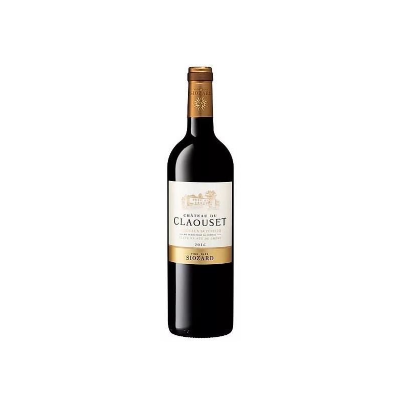 Castello Claouset BORDEAUX SUPERIORE Botti di rovere di vino rosso AOC 150 cl