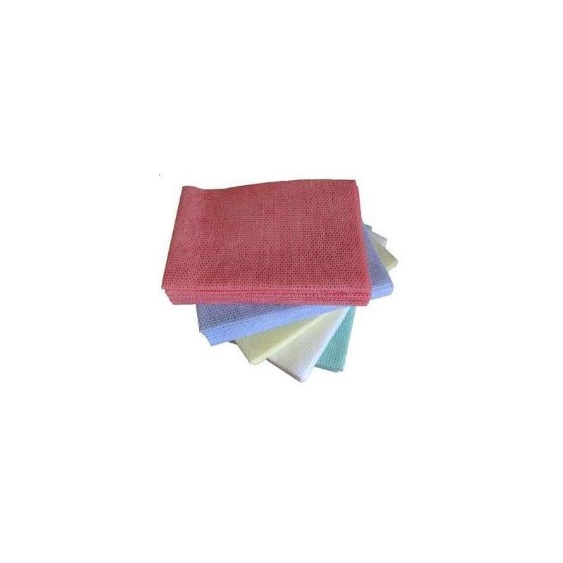 LAVETTE SUPER BLEU -35 cm x 50 cm NON TISSE- les 25