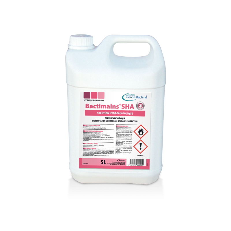 Hydroalcoholic GEL Bactimains GHA - 5 L can