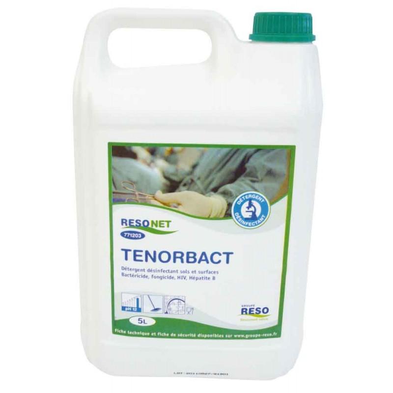 TENORBACT Levuricide Bactericida Desinfectante Limpiador Virucida Fungicida - Lata 5 L