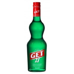 LIQUOR von Get 27 Green Pippermint 21 ° 70 cl