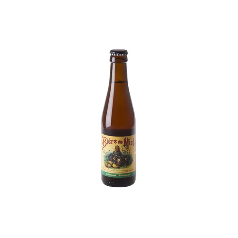 Honey Beer Dupont Amber Belgian 8 ° 33 cl