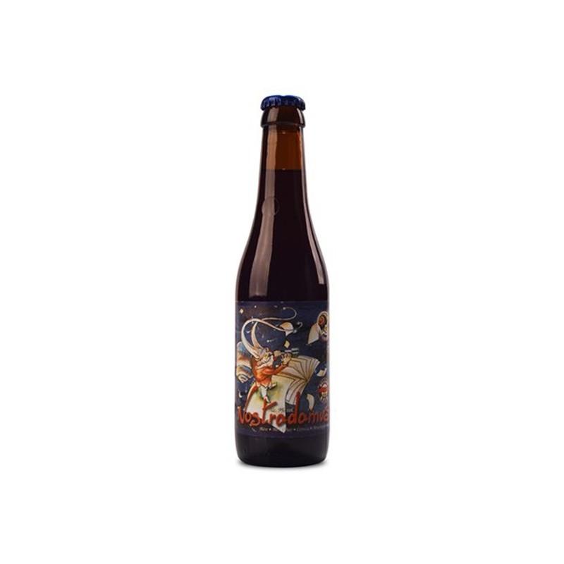 Birra marrone belga NOSTRADAMUS 9 ° 33 cl