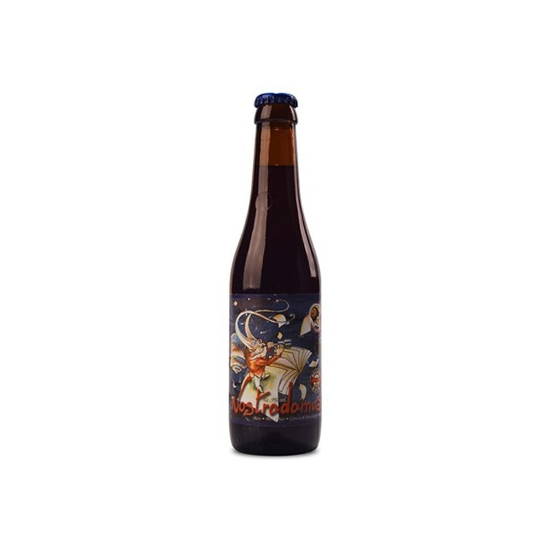 NOSTRADAMUS Belgian Brown Beer 9 ° 33 cl