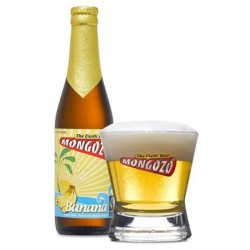 Bière MONGOZO Blanche à la Banane Belge 3.6° 33 cl
