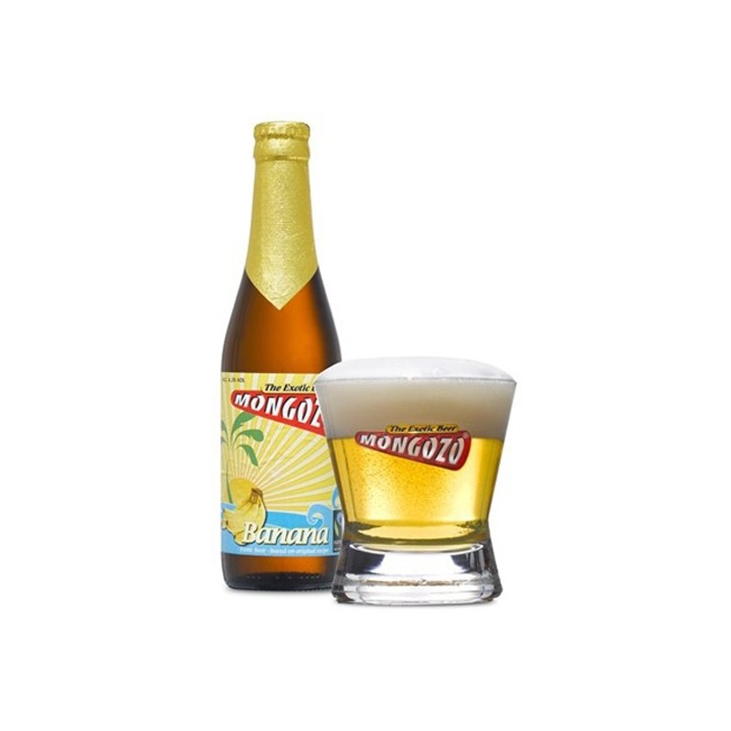 MONGOZO White Banana Beer Belgian 3.6 ° 33 cl