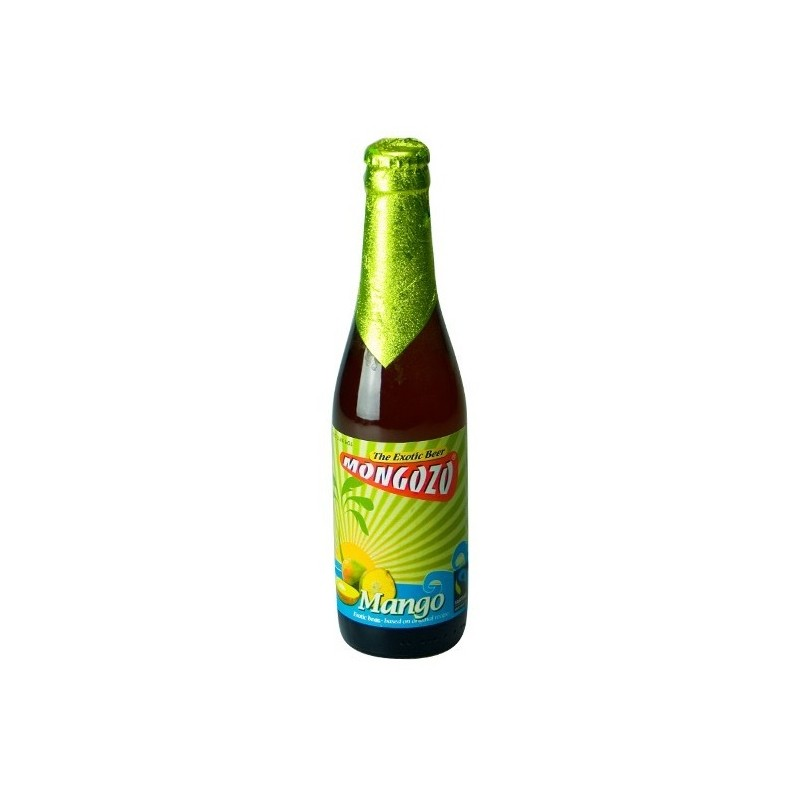 Cerveza blanca con mango MONGOZO Belga 3.6 ° 33 cl