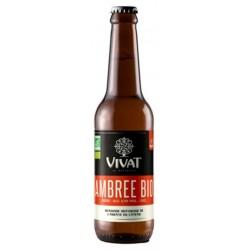 Bière VIVAT BIO Ambrée Française 6.5° 33 cl