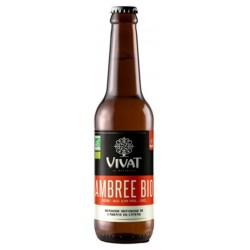 VIVAT BIO Amber French Beer 6.5 ° 33 cl