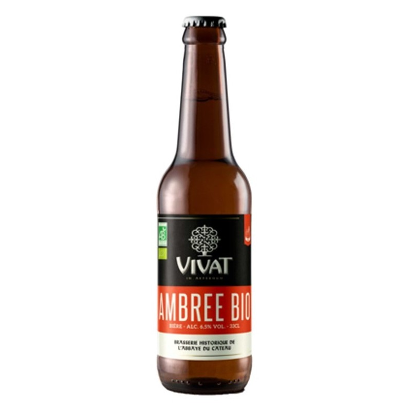 VIVAT BIO Amber French Beer 6,5 ° 33 cl