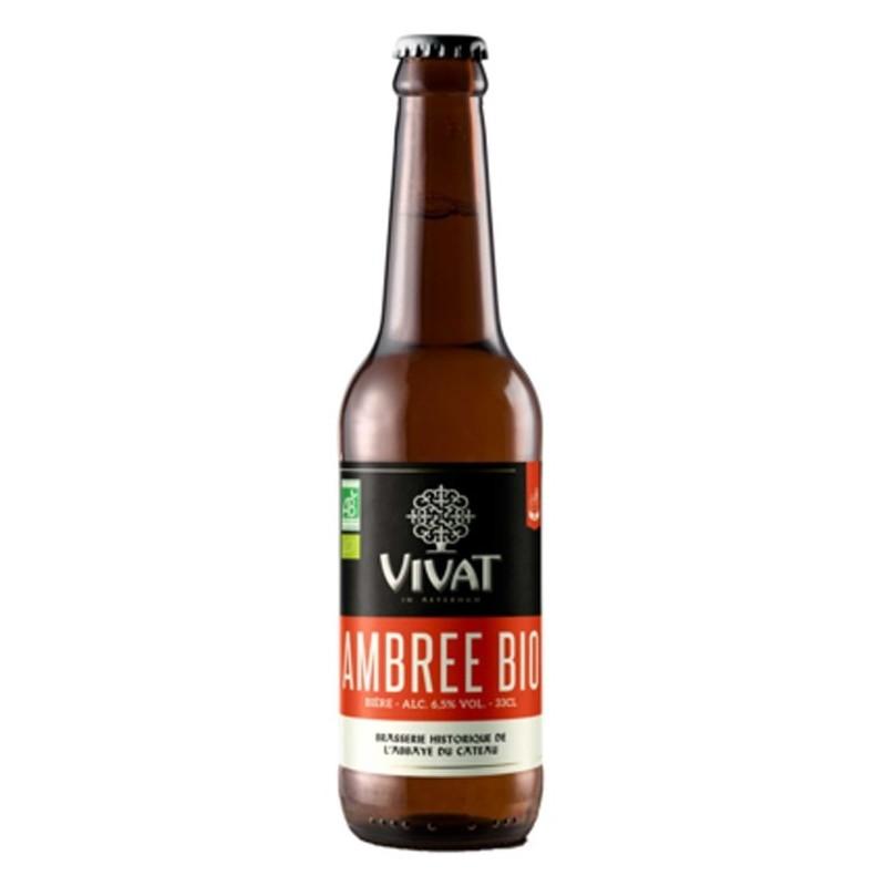 VIVAT BIO Birra francese ambrata 6.5 ° 33 cl