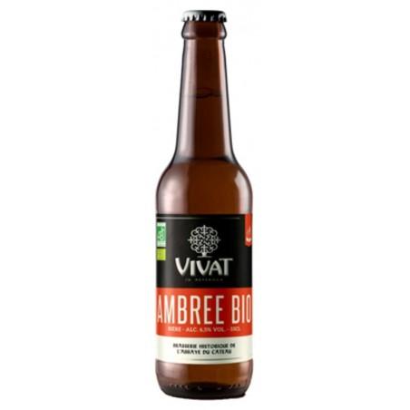 VIVAT BIO Amber French Beer 6.5 ° 33 cl