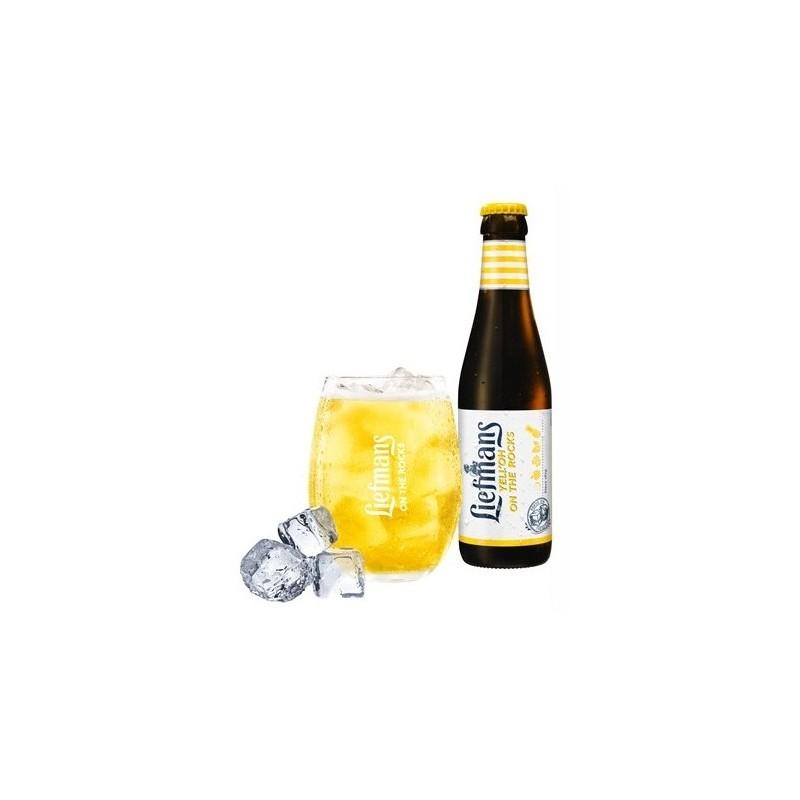 Bière LIEFMANS Yel Oh Citron Blonde Belge 3.8° 25 cl