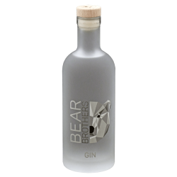 GIN Bear Brother France Distillerie des Pyrénées 45° 50 cl