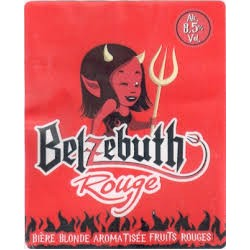 BELZEBUTH Red Fruits beer French Blonde 8.5 ° 33 cl