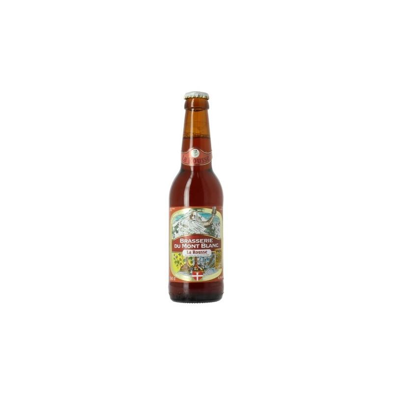 MONT BLANC BEER LA ROUSSE Rousse France 6.5 ° 75 cl