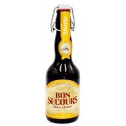 Bière BON SECOURS Blonde Belge 8° 33 cl