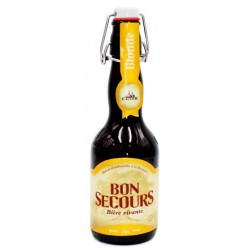 BON SECOURS Blondes belgisches Bier 8 ° 33 cl
