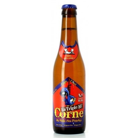 LA CORNE beer from the Bois des Pendus Triple Belgian 10 ° 33 cl