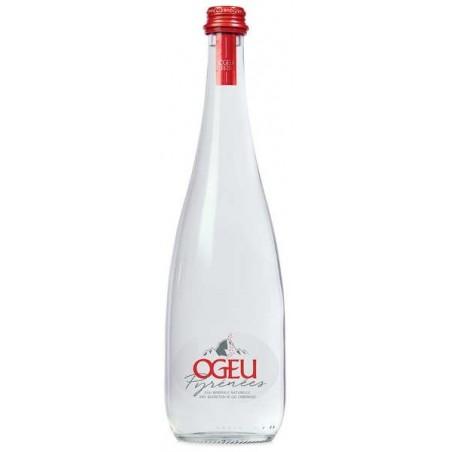 OGEU Sparkling Mineral Water Glass Bottle 75 cl