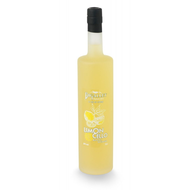 "LEMON Frosted CREAM ""LIMONCELLO"" Bigallet 25 ° 70 cl"