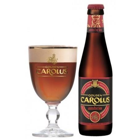 Bière CAROLUS AMBRIO Ambrée Belge 8° 33 cl