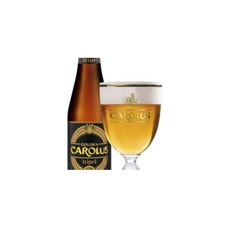 CAROLUS Triple cerveza belga 9 ° 33 cl