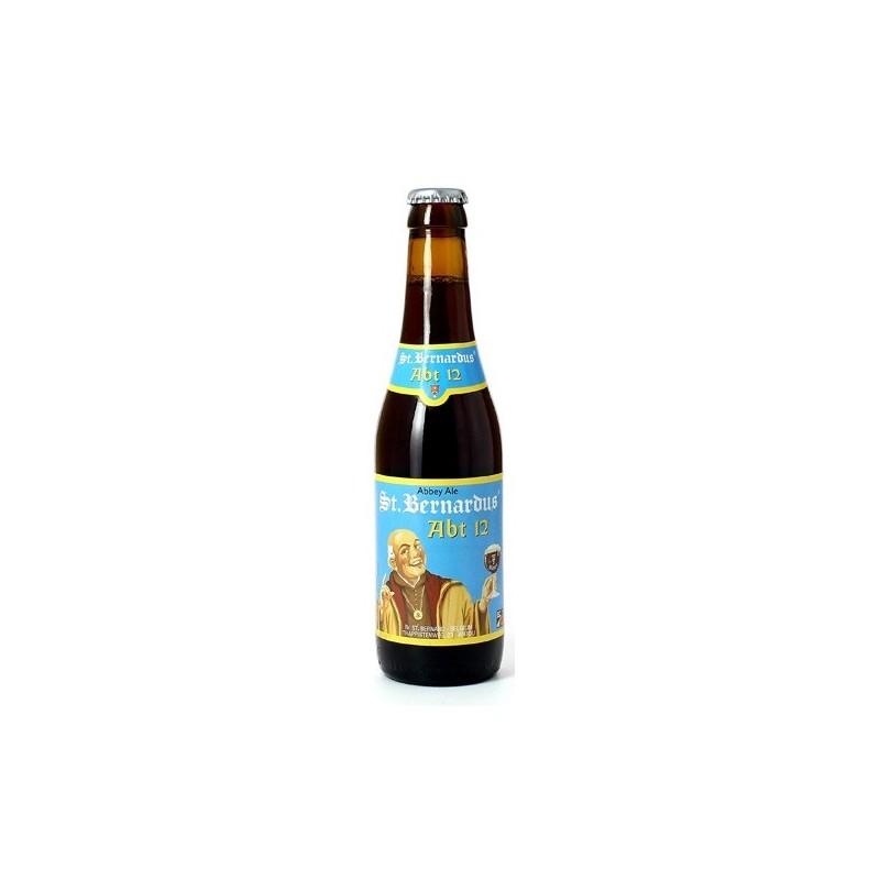 ST BERNARDUS ABT12 Quadruple Belgian beer 10 ° 33 cl
