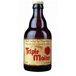 TRIPLE MOINE Triple cerveza belga 7.3 ° 33 cl