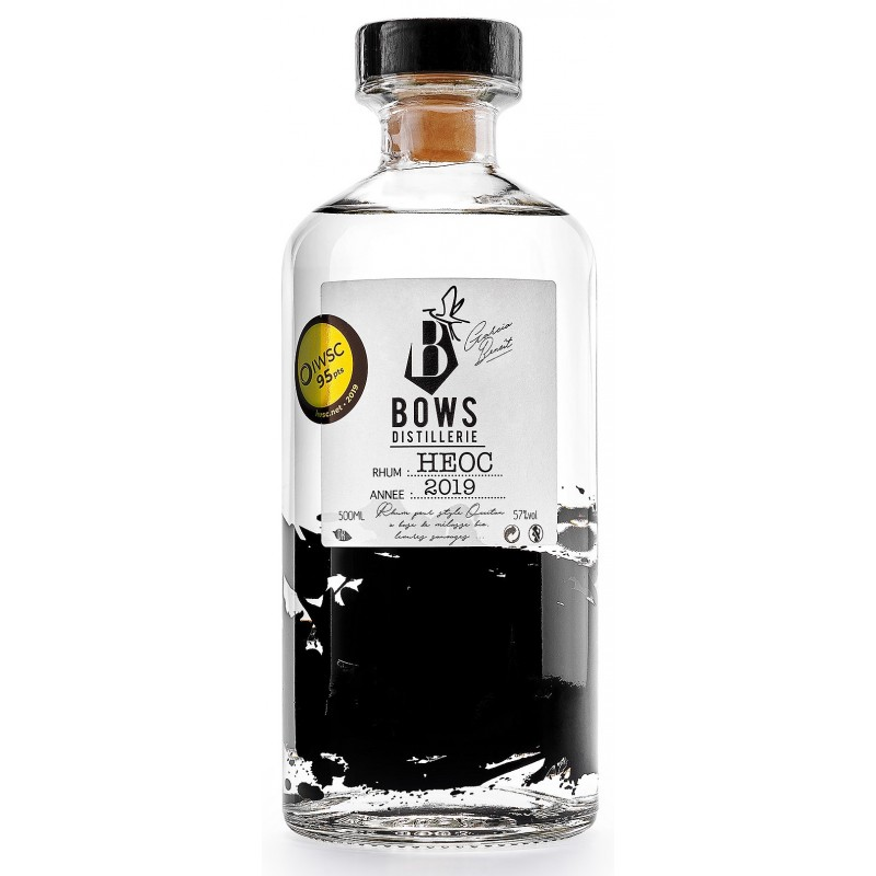 RON HEOC Blanca Bows Distillerie 57° 50 cl
