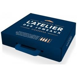 BORDEAUX Oenological BOX L'Atelier Des Jumeaux 3 Flaschen Rotwein PDO Vignobles Siozard 75 cl