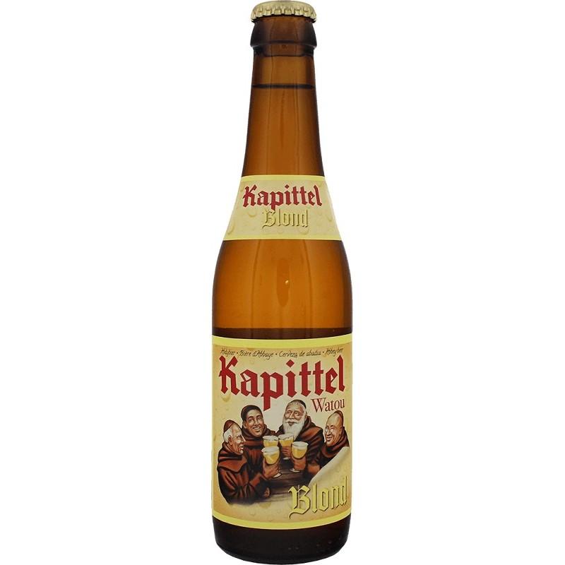 Bière KAPITTEL WATOU Blonde Belgique 6.5° 33 cl