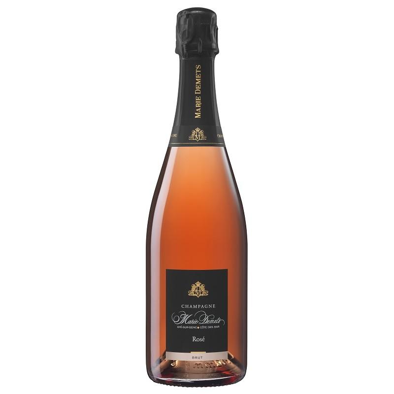 Marie Demets CHAMPAGNE Brut Rosé Wine AOP 75 cl