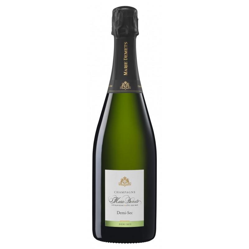 Marie Demets CHAMPAGNE Demi-Sec White Wine AOP 75 cl