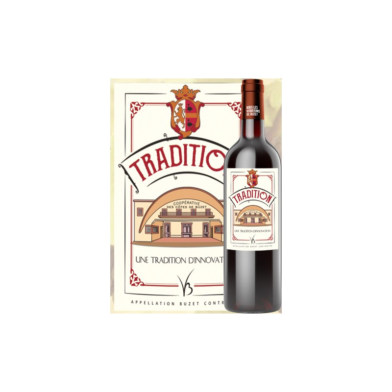 Winemakers of Buzet BUZET Tradition Red wine AOC 75 cl