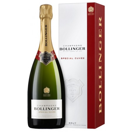 Bollinger CHAMPAGNE Special Cuvée Raw white wine 75 cl with its case