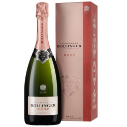 Bollinger CHAMPAGNE Brut Rosé 75 cl with its case