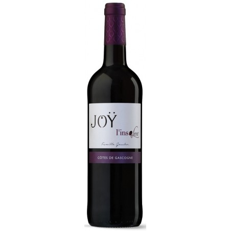 "Domaine de Joÿ ""L'Insolent"" COTES DE GASCOGNE Red wine IGP 75 cl"