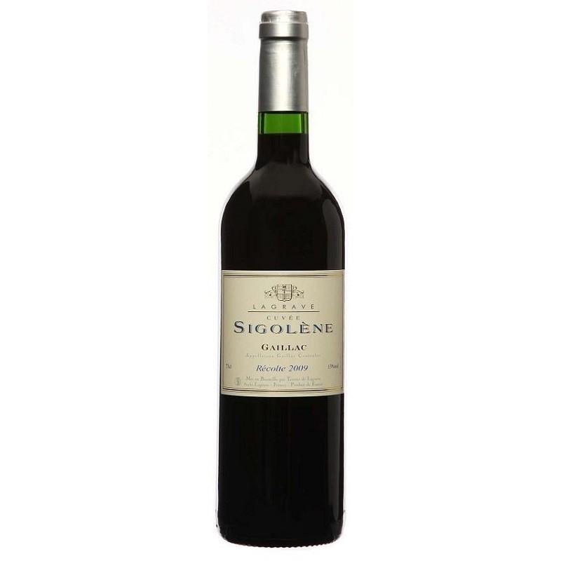 Terroir von Lagrave GAILLAC Cuvée Sigolène Rotwein AOC 50 cl