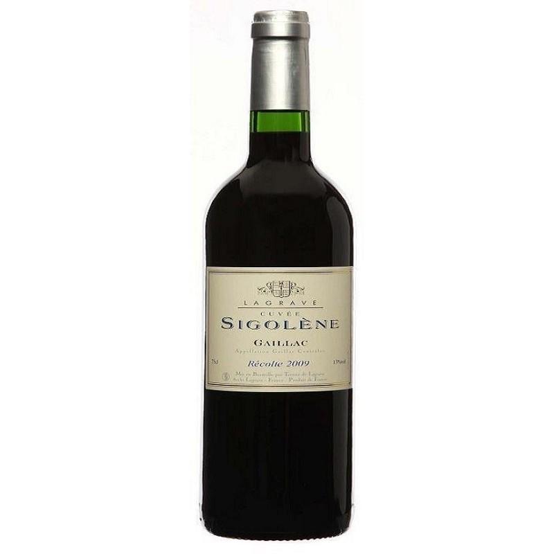 Terroir of Lagrave GAILLAC Cuvée Sigolène Red wine AOC magnum 150 cl